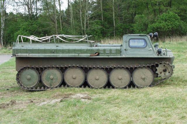 ГАЗ 71, болотоход