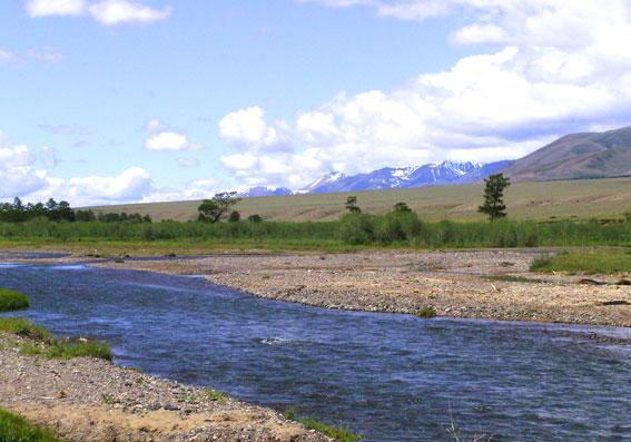 река Каргы