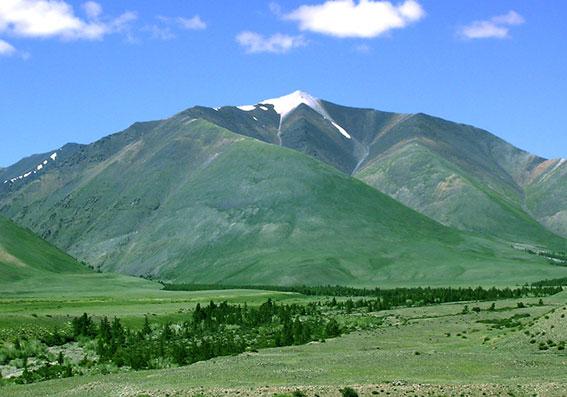 гора Ак-Баштыг 3250м.